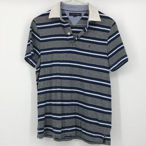 Tommy Hilfiger Striped Men's Collared Polo